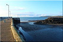 NX3343 : Entrance to Port William Harbour by Billy McCrorie