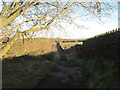 SE0739 : Bridleway towards Keighley Road by John Slater
