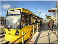 SJ8088 : Airport Tram at Roundthorn by David Dixon