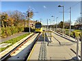 SJ8188 : Metrolink Airport Line, Martinscroft by David Dixon