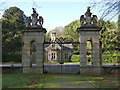 SK6464 : West Gate, Rufford Abbey by Alan Murray-Rust