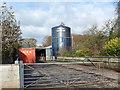 NY5254 : Silo at Tarn Lodge Farm by Oliver Dixon