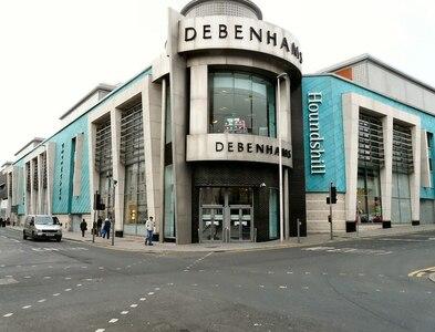 SD3035 : Debenham's, Blackpool by Gerald England