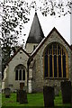 TQ2953 : Merstham Church by Peter Trimming