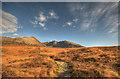 NG4220 : The path to Coire Lagan by John Allan