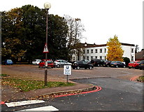 SP4539 : Hospital visitors' pay and display car park in Banbury by Jaggery
