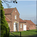 SK7890 : Former coach house or pigeoncote at Hall Farm by Alan Murray-Rust