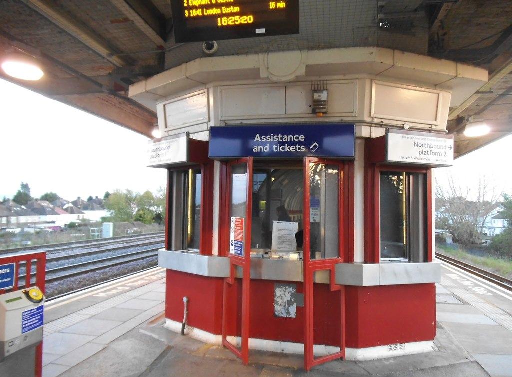 Railwayn ticket office