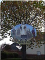 TM1682 : Dickleburgh Village sign by Adrian Cable