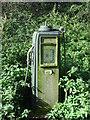 TM3169 : Old Petrol Pump by Keith Evans