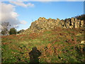 SK5014 : Volcanic Rocks at Beacon Hill Country Park by William Fairbrother