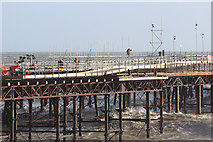 TQ8109 : Hastings Pier repairs by Oast House Archive