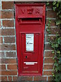 TM2078 : Crossroads Victorian Postbox by Adrian Cable