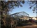 SX3769 : New building by Dupath Lane by Derek Harper