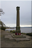 NT0783 : The War Memorial at Limekilns by Ian S