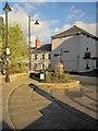 SX3569 : Steps by the church, Callington by Derek Harper