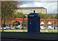 NS5964 : London Road police box by Thomas Nugent