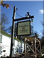 SW8739 : Sign for the Roseland Inn at Philleigh by JThomas