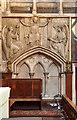 TQ2779 : Holy Trinity, Brompton - Sedilia by John Salmon