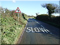 SW9242 : Approaching a bend on the A3078 by JThomas