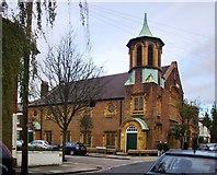 TQ2075 : Sheen Vale Congregational Church - now Thompson House School by Stefan Czapski