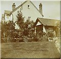 TQ2963 : Back garden of The Corner House, 44, Sandy Lane South in 1913 by George W Baker
