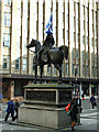 NS5965 : Wellington with Saltire by Thomas Nugent