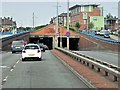 SJ9342 : Uttoxeter Road Approaching Entrance to Meir Tunnel by David Dixon