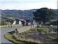 SH6041 : The B4410 near Garreg by Robin Drayton