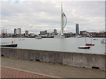 SZ6299 : Portsmouth seen from Gosport by David960