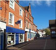 SK5319 : Churchgate, Loughborough, Leics by David Hallam-Jones