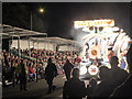 ST3037 : Grandstands at Bridgwater Carnival 2014 by Rod Allday