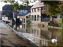 SO8554 : Worcester & Birmingham Canal - lock No. 3 by Chris Allen