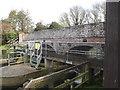 TM1678 : Billingford Bridge & walkway by Adrian Cable