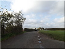 TM1678 : Layby off the A143 Bungay Road by Adrian Cable