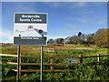 TF0308 : Borderville sign by Bob Harvey