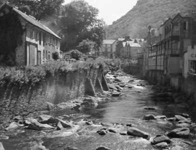SS7249 : Lynmouth Before The Flood by Peter Jeffery