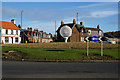 NT3672 : Golfball Sculpture at Levenhall by Ian S