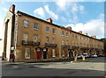 SP5106 : 3-storey row of houses in Beaumont Street, Oxford by Jaggery