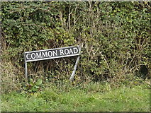 TM1781 : Common Road sign by Adrian Cable
