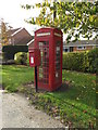 TM1979 : Telephone Box & Mill Road Postbox by Geographer