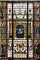 SJ8397 : Manchester Central Library, The Shakespeare Window by David Dixon