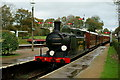 TQ3729 : Arriving at Horsted Keynes by Peter Trimming