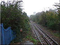 SW8132 : Railway heading east from Falmouth Town Railway Station by JThomas
