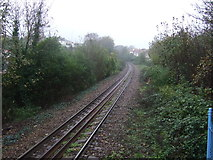 SW8132 : Railway heading west from Falmouth Town Railway Station by JThomas