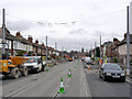 SK5337 : Fletcher Road looking east by Alan Murray-Rust