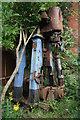 SJ4083 : Garston Ship Breakers - marine steam engine by Chris Allen
