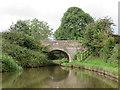 SJ4434 : Bridge 51 Llangollen Canal by Richard Rogerson