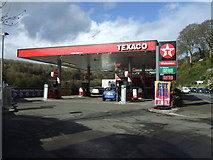SX2553 : Service station on Station Road, East Looe by JThomas