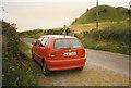 S0428 : Knockgraffon Motte ancient and modern-Tipperary, Ireland by Martin Richard Phelan